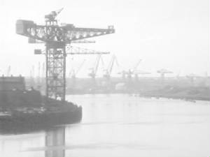 Tyneside Shipyard 1986 [click for larger image]